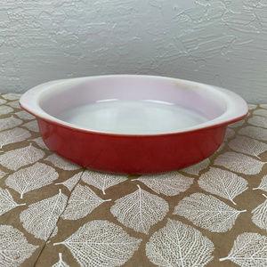 Vintage Pyrex Flamingo Pink 221 Cake Dish